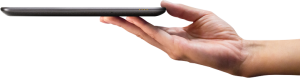 Nexus 7 Tablet in hand