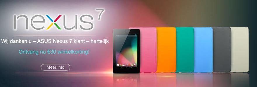 Asus voucher Nexus 7